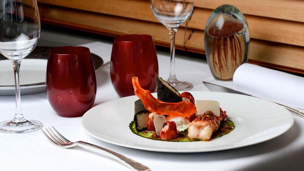 Plat - Restaurant les Flots- La Rochelle - Grégory Coutanceau